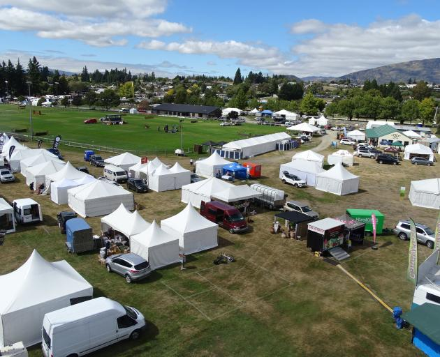 Wanaka A&P Show Covid-19 manager Tim Mann (below) is one of many who have been busy getting...