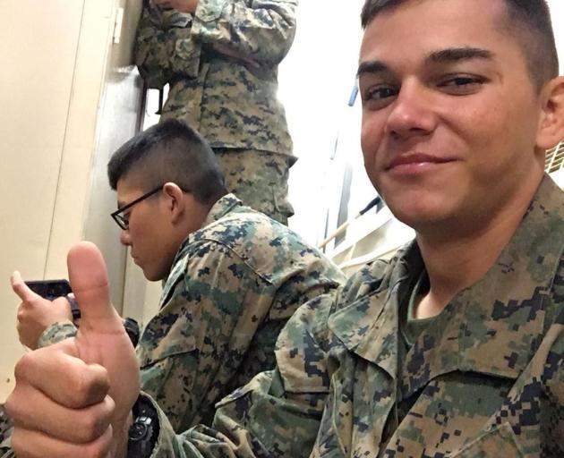 Lance Corporal Kareem Nikoui. Photo: Kareem Nikoui  via Reuters