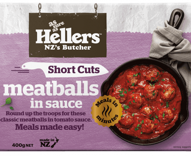 Simply add pasta or rice to turn these meatballs into a meal. Photo: Supplied