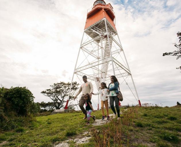 Farewell Spit Lighthouse in Golden Bay PHOTO: NELSON TASMAN NZ