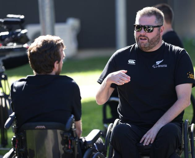 New Zealand paralympian Mike Todd. Photo: Getty Images