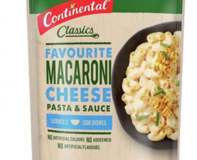 Continental pasta and sauces are still a family favourite. Photo: Supplied