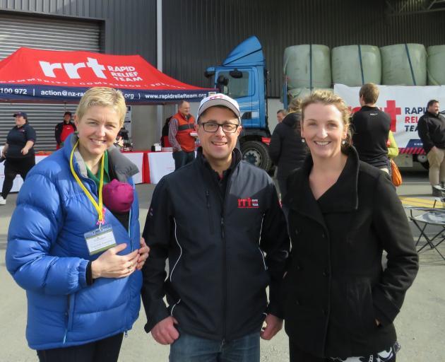 Rural Support Trust Mid Canterbury wellness co-ordinator Frances Beeston, Ashburton Rapid Relief...