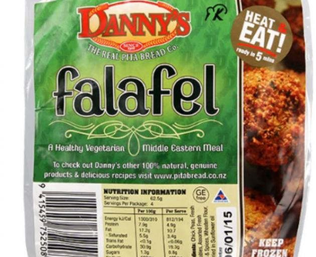 Tasty falafel in just minutes, what more could you want? Photo: Supplied
