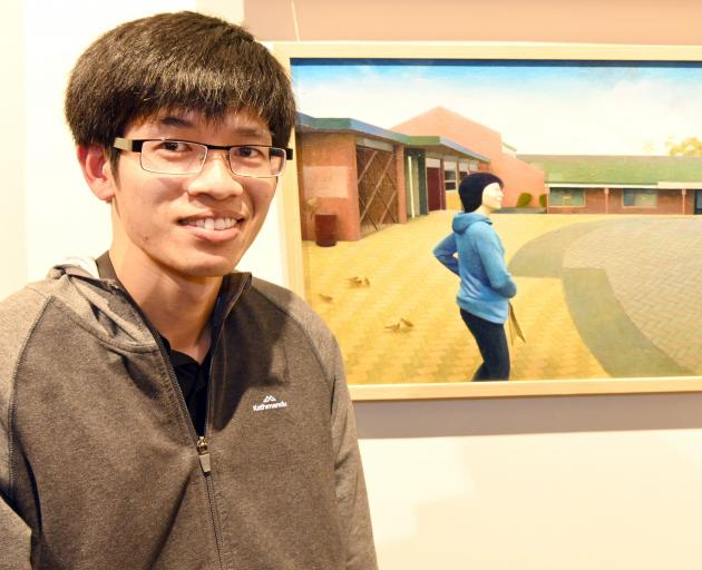 Gavin Chai gets inspiration for his award-winning works from the Old Masters. PHOTO: LINDA ROBERTSON