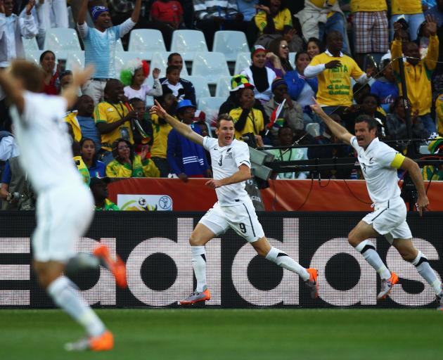 The All Whites were undefeated at the 2010 World Cup in South Africa. Photo: Getty Images