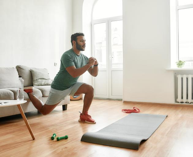 It's important to keep doing resistance training exercises when at home to keep up muscle mass. ...