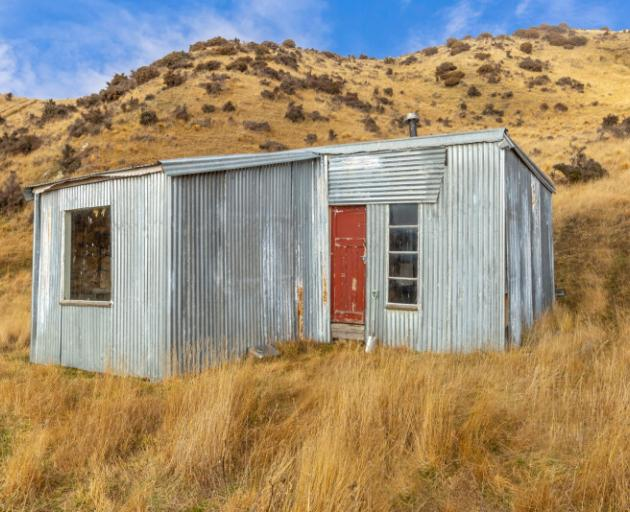 RURAL OUTLOOK: A lifestyle block in Hawarden which sold for $455,000 comes complete with a hut....