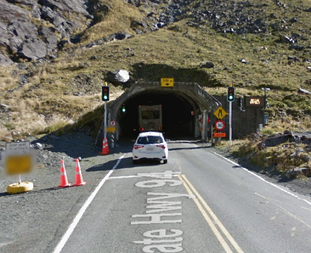 The Homer Tunnel on the Milford Road. Photo: Google Maps