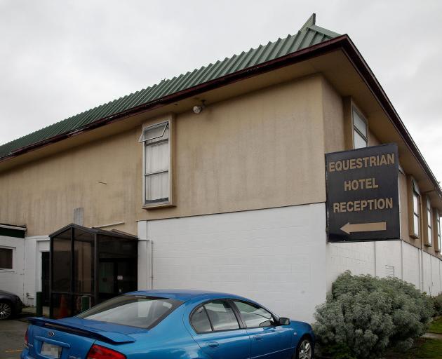 The Equestrian Hotel in Hornby. Photo: Geoff Sloan