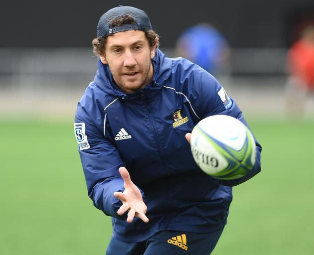 Marty Banks says he can't wait to be back under the roof at Forsyth Barr Stadium in 2022.  Photo:...