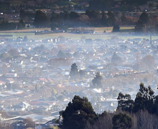 The air that we breathe in Mosgiel. Photo: Peter McIntosh