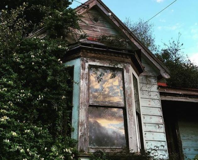 A derelict house in North East Valley. PHOTO: TALIA MARSHALL