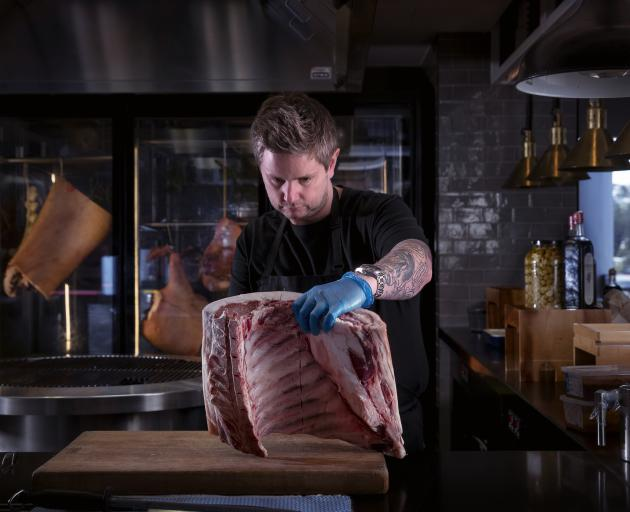 Chef Ryan Henley is a new arrival on the Queenstown food scene. PHOTOS: VAUGHAN BROOKFIELD
