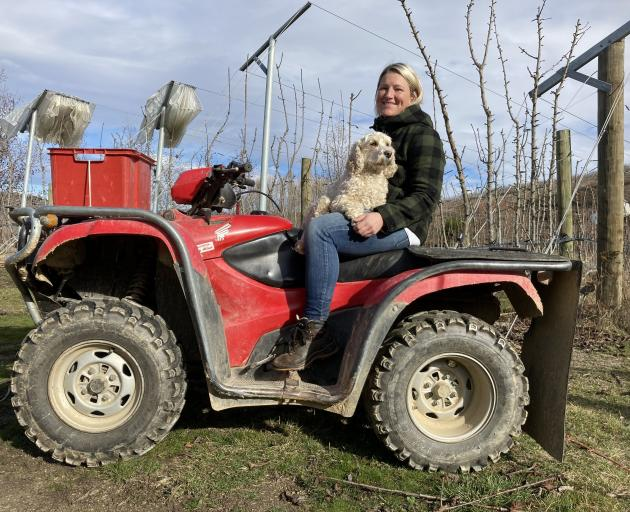 El Pedregal Orchard manager Whitney Conder, of Alexandra, has been elected on to the Women in...