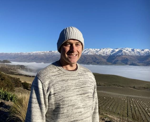 The Canyon owner Hayden Johnston whose Tarras winery will be used to stage creative fashion...