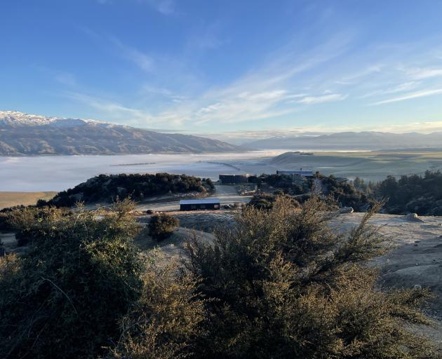 The view from behind The Canyon winery where this year's WoolOn will be staged, in the heart of...