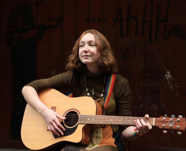 Taieri College pupil and indie musician Keira Wallace is on a mini-tour of Dunedin venues, in...
