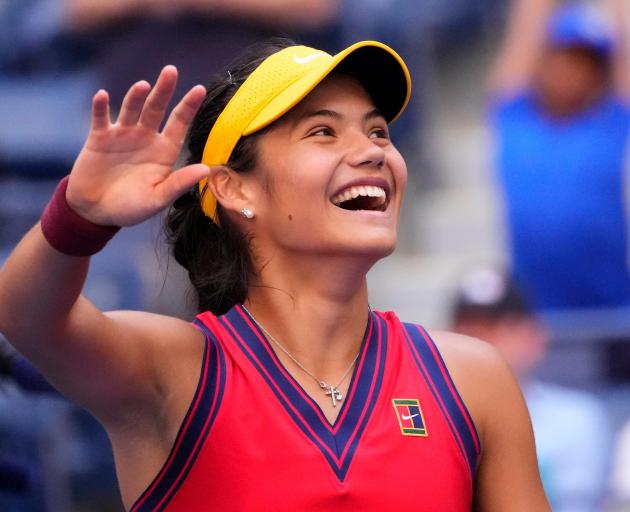 Emma Raducanu's performance on Monday captivated the New York spectators, who couldn't help but...