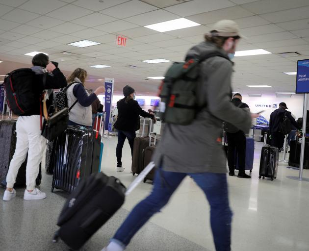 US airport travel reuters