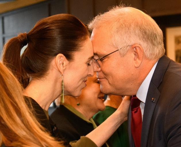 Any uranium on the breath yet, Mr Morrison? PHOTO: MARK TANTRUM