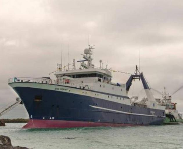 The fatal accident on board the New Zealand-registered factory fishing vessel San Granit occurred...