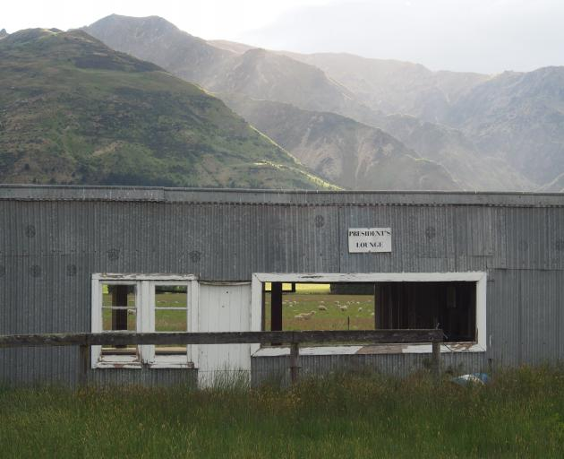 This image of the Hawea Picnic Racing Club's president's lounge has been selected as a finalist...