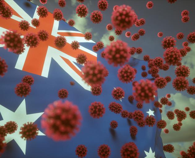 Friday marked the a record increase of cases in Australia - more than 1900. Photo: Getty Images