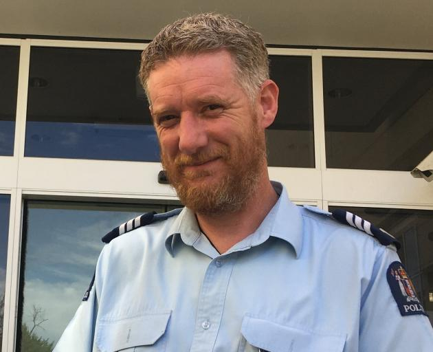 Sergeant Blair Wilkinson. Photo: ODT files