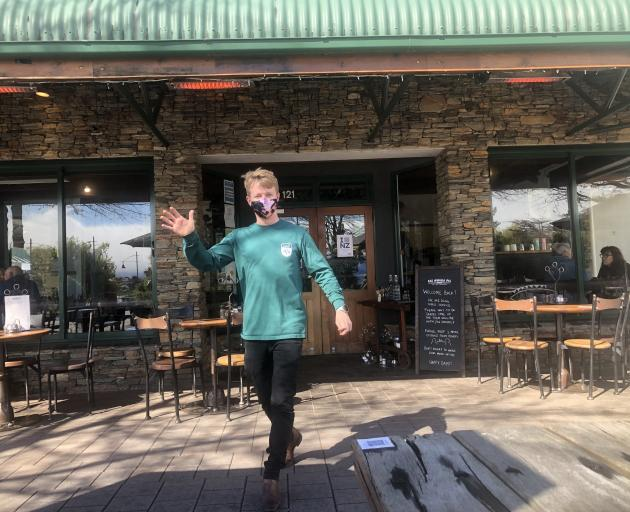 Kai Whakapai Cafe, Restaurant & Bar owner Nick Aubrey says Level 2 differs from last time - there...