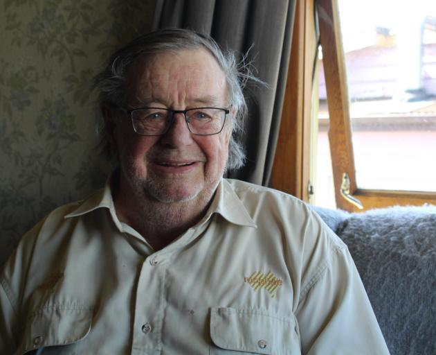 Don Lumsden worked at Ohai Coal Mine for 38 years. Photo: Matthew Rosenberg/LDR
