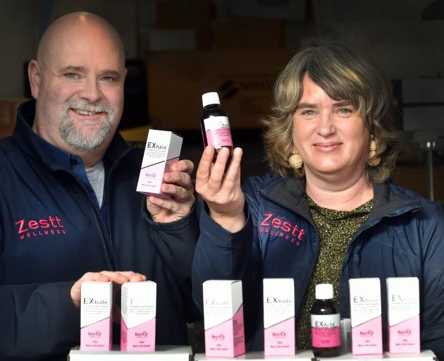 Zestt Wellness co-founders Darcy Schack and Anna Campbell in their Rattray St premises. PHOTO:...