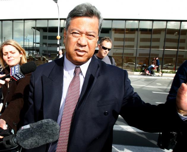 Taito Phillip Field in 2006 when the corruption investigation began. Photo: New Zealand Herald