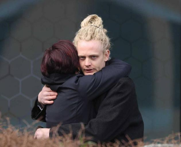 Campbell Page outside the Christchurch District Court on Thursday. Photo: George Heard