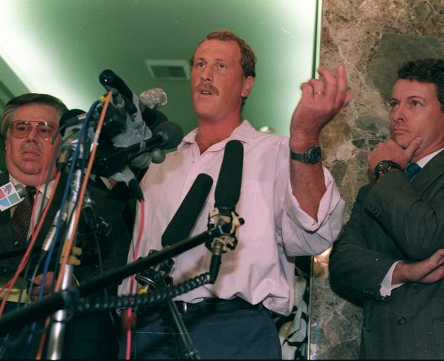 The video that George Holliday (centre) captured symbolised police brutality and racial injustice...