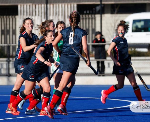 Harewood completed an unbeaten season in Canterbury Hockey's women's premier league with a 3-1...
