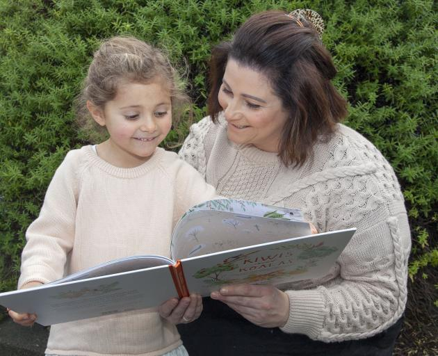 Sarah Milne's first children's book bridges the connection between New Zealand and Australia...