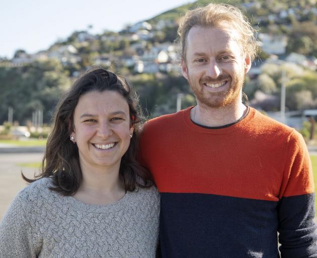 Laurie Brunot and Benjamin Gellie. Photo: Geoff Sloan