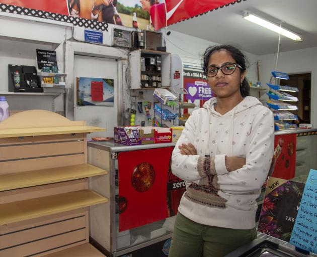 Krishna Joshi says the Cranford St Dairy is likely to close this month. Photo: Geoff Sloan