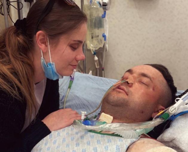 Shanan Nicholl was injured in a crash that killed his brother Mark. His partner Paula Hardaker...