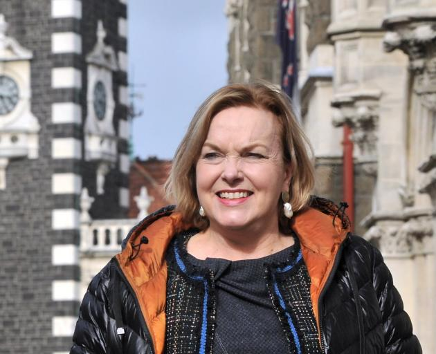 National leader Judith Collins in Dunedin yesterday. PHOTO: CHRISTINE O'CONNOR