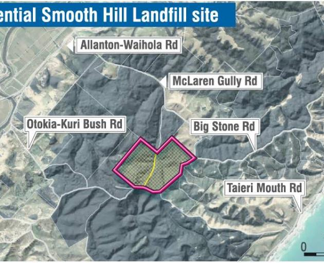 The Dunedin City Council is in the process of developing a new landfill at Smooth Hill in Big...
