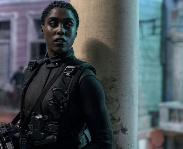 Lashana Lynch in No Time To Die. IMAGE: SUPPLIED