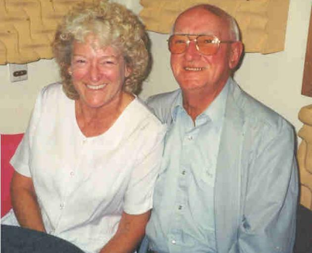 Mary and her husband Art Stanley-Shepherd shared a love of line dancing. Photo: Supplied
