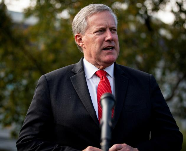 Mark Meadows served as Trump's White House chief of staff. Photo: Reuters