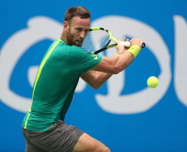 New Zealand's Michael Venus will be in action tonight at the ASB Classic. Photo: Getty Images