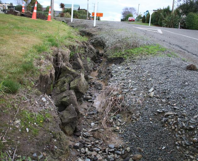 Discussions about solutions for the Kakanui stormwater drainage system have started. PHOTO: KAYLA...