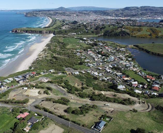 Earthworks have begun on a 49-unit development being built in Ocean Grove. PHOTO: STEPHEN JAQUIERY