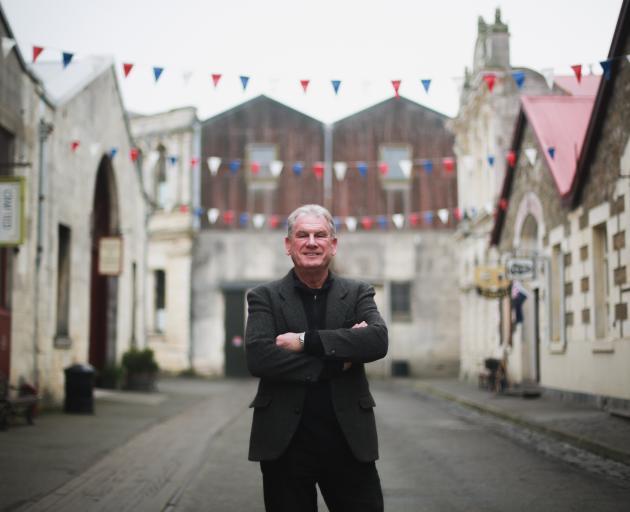 Oamaru Whitestone Civic Trust chairman Graeme Clark is grateful resource consent fees for...