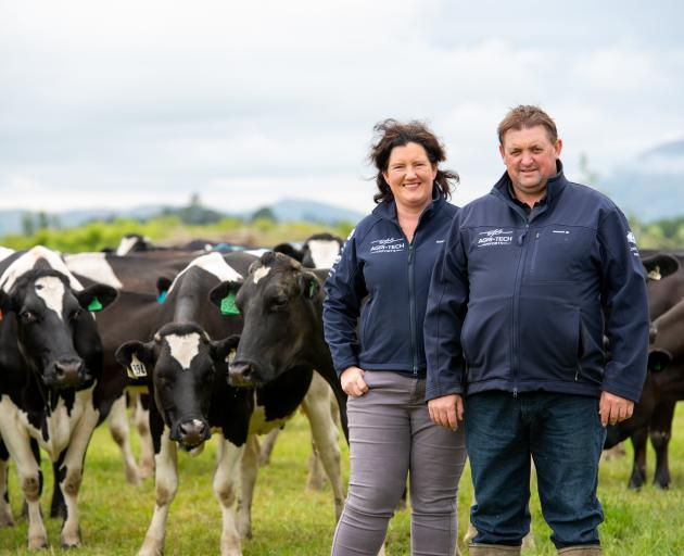 West Otago dairy farmers Kyllee and Paul Henton have found a way to keep their cows more...
